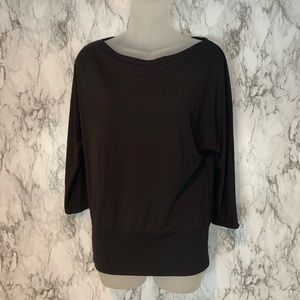 The Limited Black long Sleeve Blouse Top A